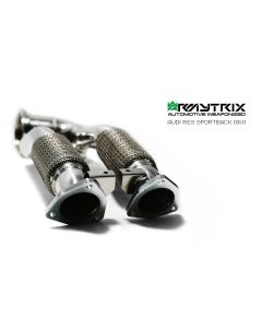 RS3 8V Armytrix ceramic decat downpipe