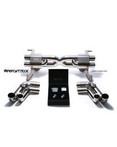 R8 V8 07-12 Armytrix Valvetronic Titanium