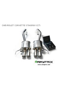 Corvette C7 Armytrix Valvetronic Chrome