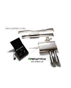 Cooper S F56 Armytrix Valvetronic Chrome