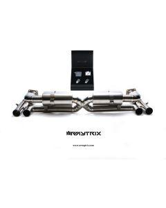 997 Turbo Armytrix Titanium Valvetronic Black