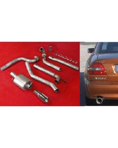 """JT Volvo C70 97-04 2wd 3"""" turboback 1 silen"