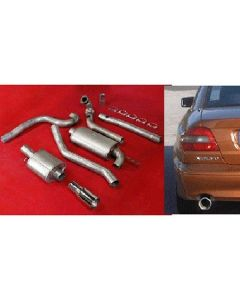 """JT Volvo C70 97-04 2wd 3"""" turboback 2 silen"