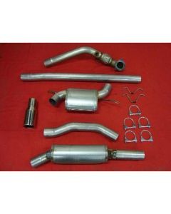 """JT Volvo C70 97-00 2wd 3"""" turboback 2 silen"