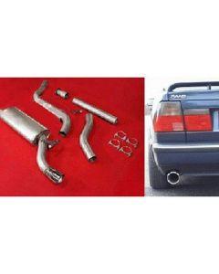 """""""JT Saab 9000 92-98 CS Turbo 3"""""""" cat-back 1 s"""