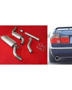 """""""JT Saab 9000 92-98 CS Turbo 3"""""""" cat-back"""""""