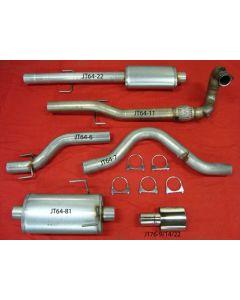 """""""JT Saab 95 98-03 3"""""""" turboback 2 silencer de"""