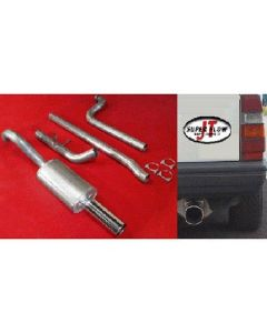 """JT Volvo 740 3"""" turboback 1 silencer decat"""