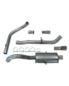 """""""JT Volvo 940 3"""""""" turboback 1 silencer for OE"""