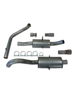 """""""JT Volvo 940 3"""""""" turboback 2 silencer for OE"""