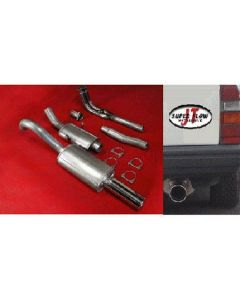 """JT Volvo 740 8V engine manifold-back 3"""" exh"
