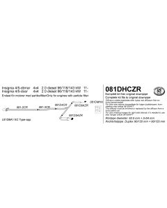 Opel Insignia 4x4 2.0 Diesel Cat-Back