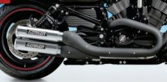 Super Trapp Kerker K Series Aluminum Slip Ons Mufflers VRSCD.  V-ROD '06-17*