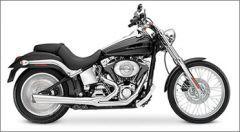 SuperTrapp  2:1 SuperMeg System - Harley Davidson FXST/FLST 90-06 - DYNA 91-05 - Chrome