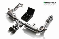 718 Boxter/Cayman Armytrix Valvetronic Chrome