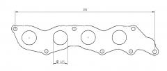 Ford Duratec 1.8/ 2.0/ 2.3 pakosarjan laippa