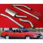 JT Saab 900 og Turboback Decat Exhaust